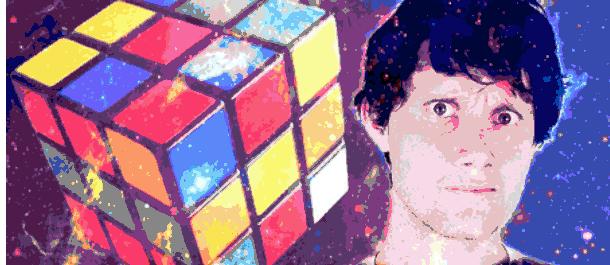Michael Burke in Cubehead
