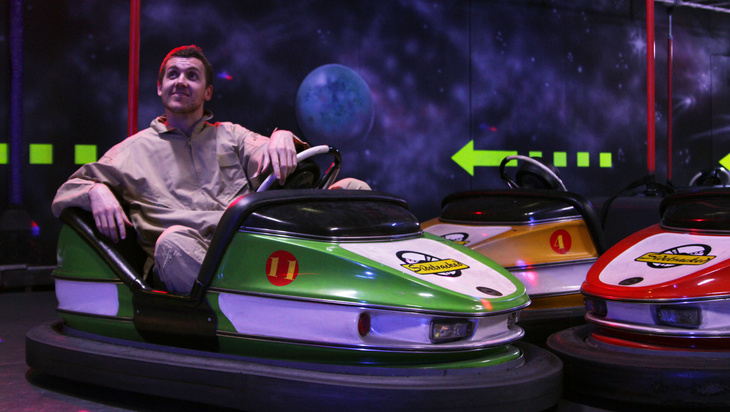 5 Good Reasons to see Daniel Connell – Dodgem Car Saviour.