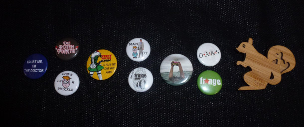 Edinburgh badges