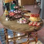 Hunt & Darton cakes table.