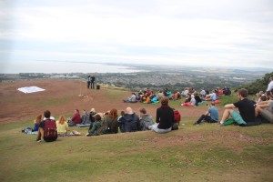 Lionel Richies Arthurs Seat audience