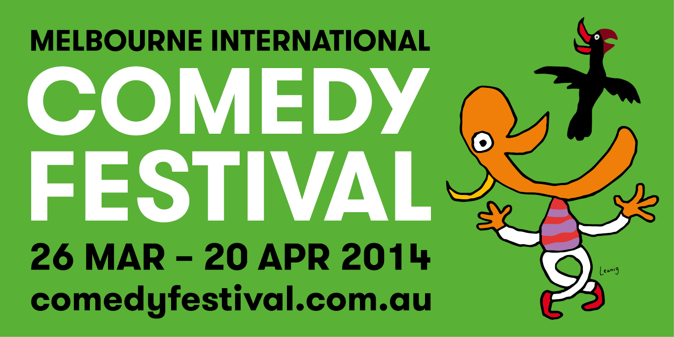 Shows at the 2014 Melbourne International Comedy Festival previously reviewed by Squirrel Comedy
