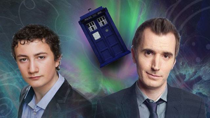 5 Good Reasons to See Benjamin Maio Mackay & Rob Lloyd 50 Years of Doctor Who: Preachrs Podcast Live 2!