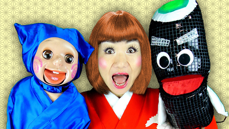 5 Good Reasons to see Ninja Ken & Sushi Monster by Showko