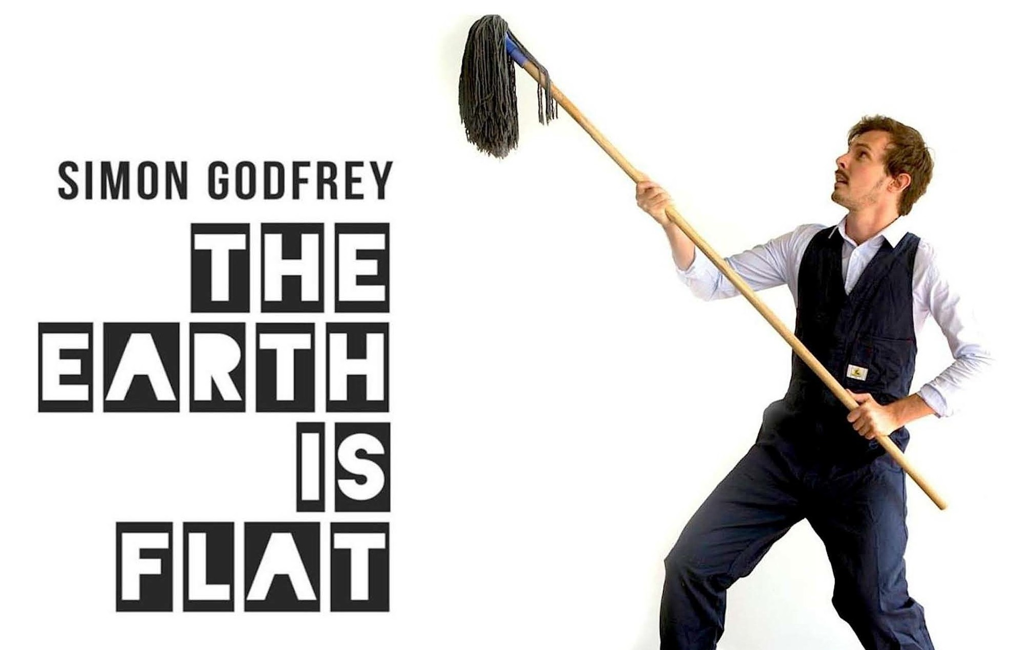 5 Good Reasons To See The Earth is Flat by Simon Godfrey