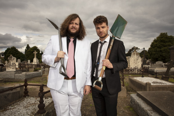 5 good reasons to see our show for Blake Everett and Oliver Coleman: Dig Their Own Graves