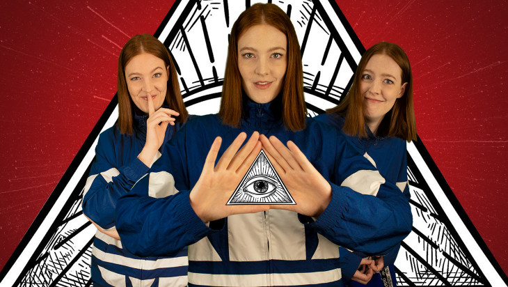 5 Good Reasons to See That One Time I Joined The Illuminati by Lou Wall