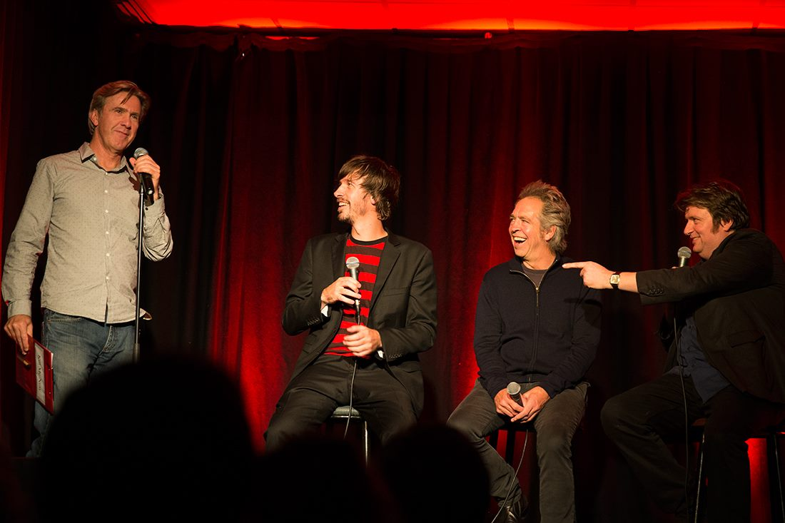 Interview with Matthew Hardy about Yarraville Laughs comedy room.