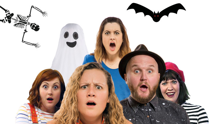 5 Good Reasons to see Improvilicious – The Improvised Guide to Spooky Stories