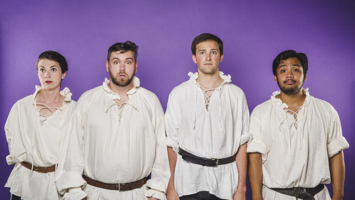 5 Good Reasons to See Completely Improvised Shakespeare