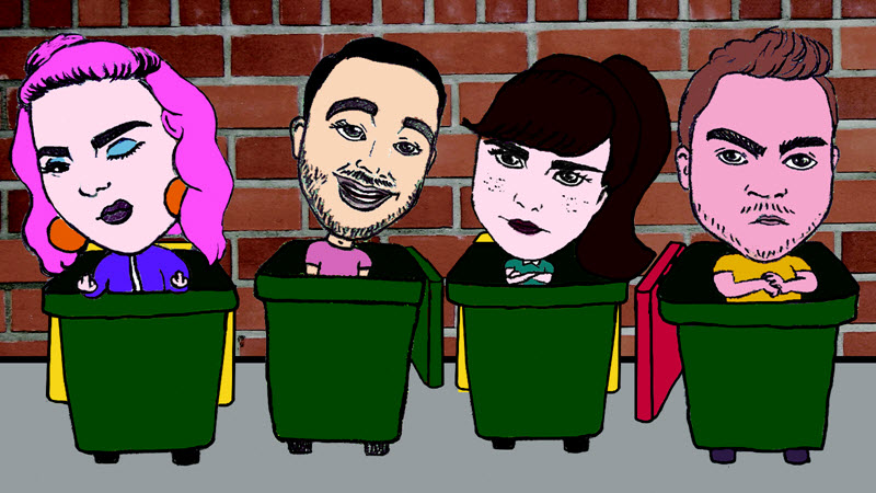 5 Good Reasons to see Human Garbage